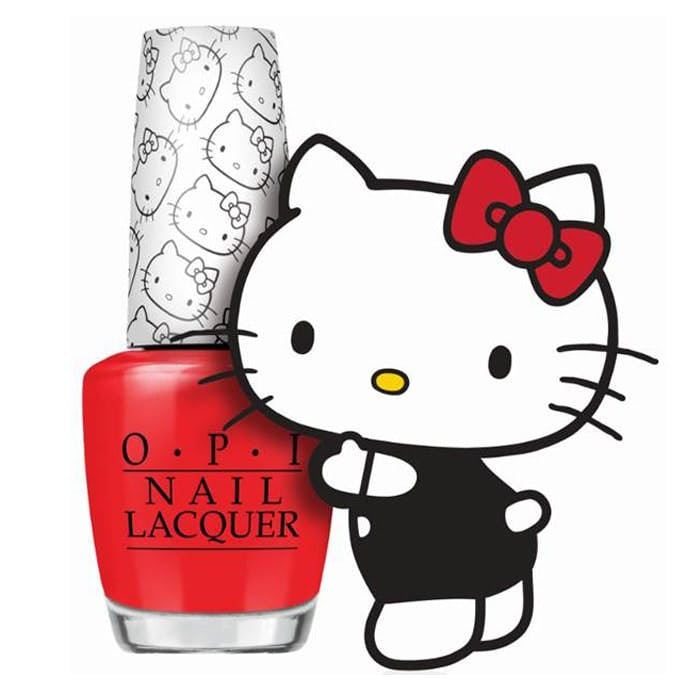 Hello Kitty for OPI Nails