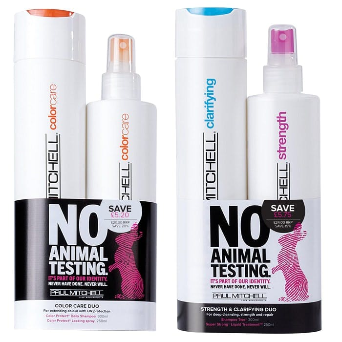 Paul Mitchell Cruelty Free 2016