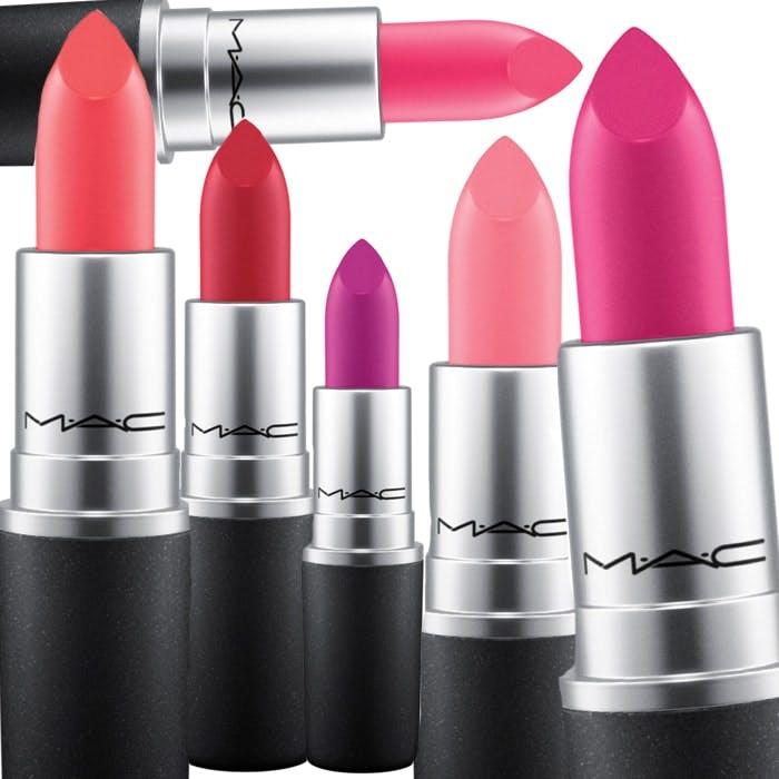 Flamingo Park lipsticks from MAC