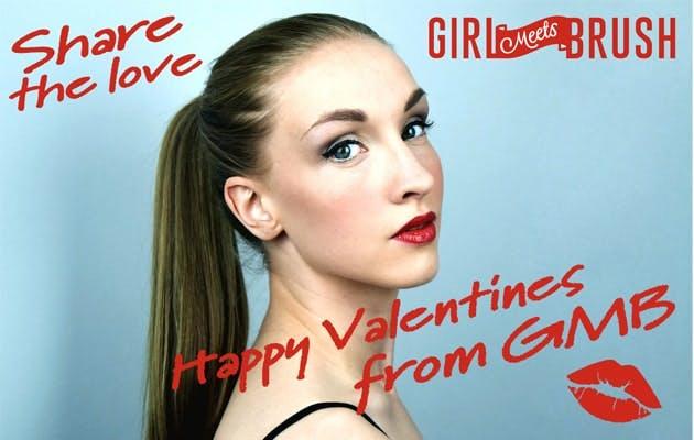 Girl Meets Brush Valentine's Kickstarter