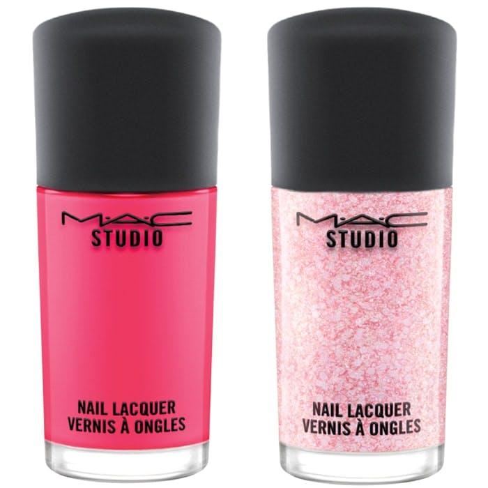 MAC Flamingo Park nails