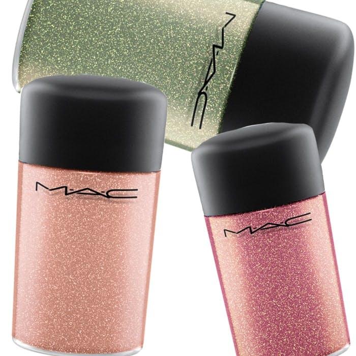 MAC's Flamingo Park pigments