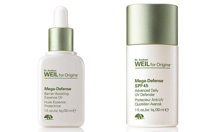 Dr Andrew Weil for Origins Mega Defense range