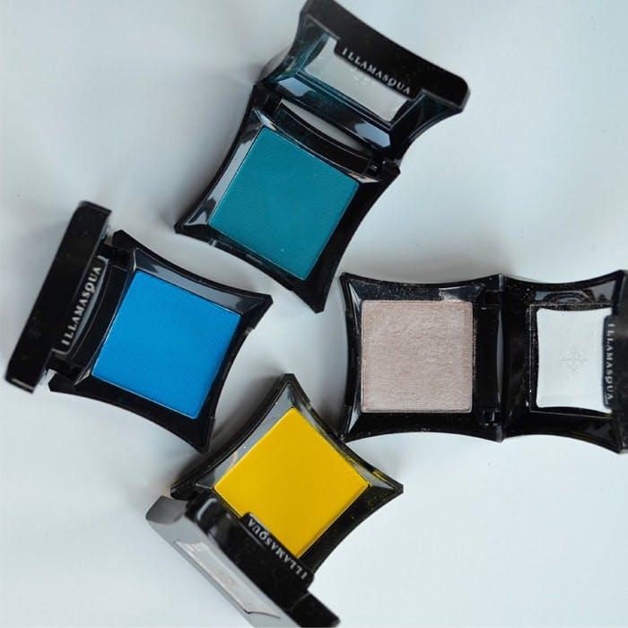 Illamasqua Powder Shadows in beach colours