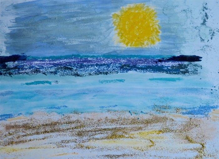 The beach - with beach colours!
