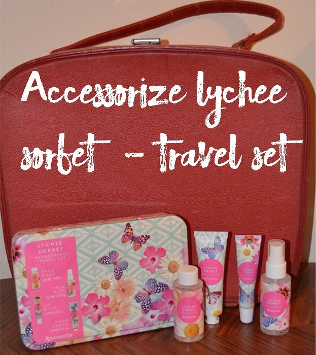 Accessorize Lychee Sorbet Travel Set