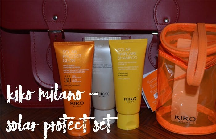 Kiko Milano Solar travel set