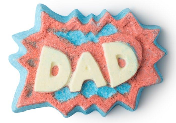 Lush DAD Father's Day bath bomb