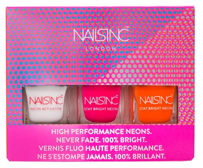 Nails Inc Neon mini kit