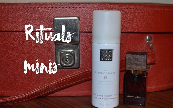 Rituals Minis for Travel