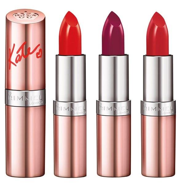Kate Moss red lipsticks for Rimmel