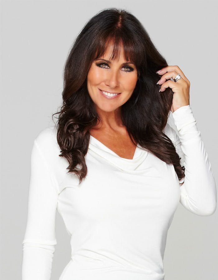 Linda Lusardi launches haircare