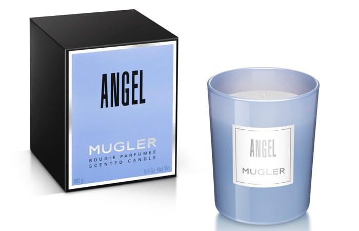 Mugler Angel candle and box