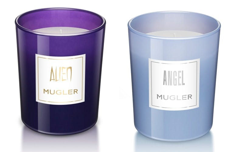 Thierry Mugler Alien and Angel Candles
