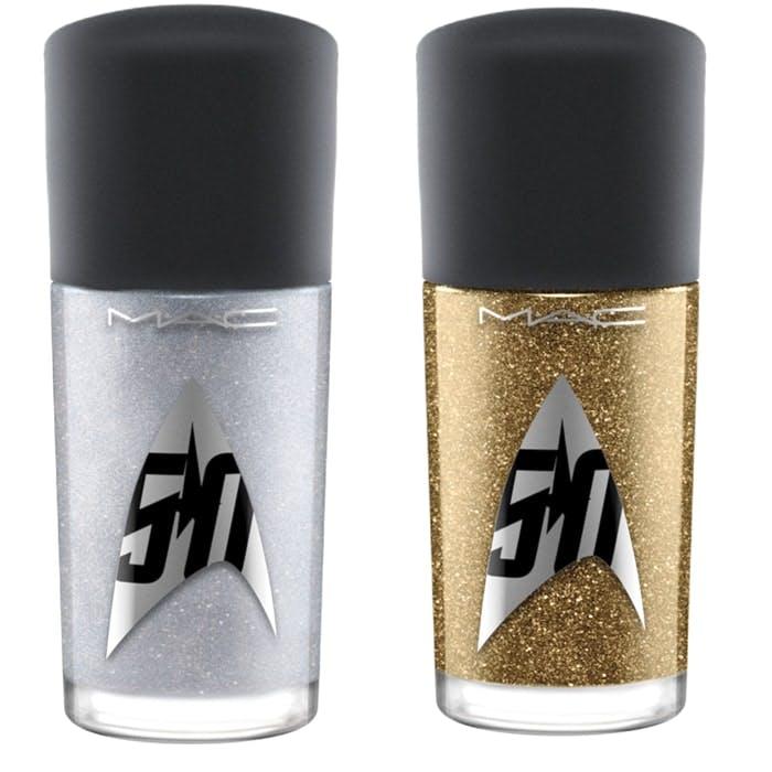 MAC Star Trek Nails