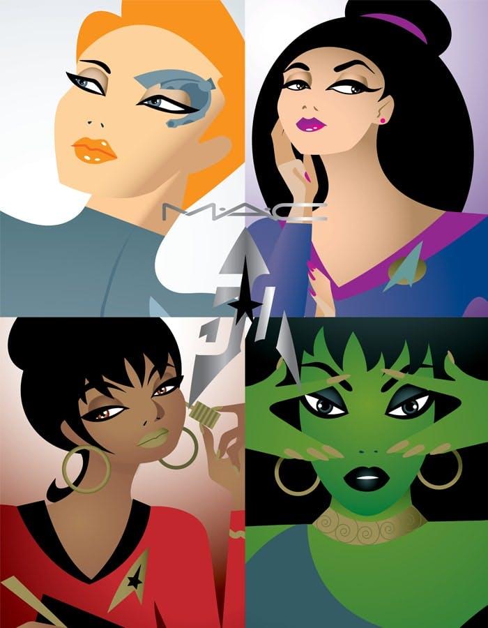 MAC and the women of Star Trek