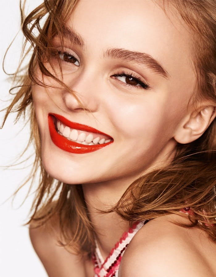 Beautiful Lily-Rose Depp by Mario Testino for CHANEL