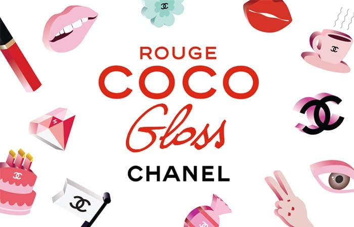Chanel Rouge Coco Gloss Stickers