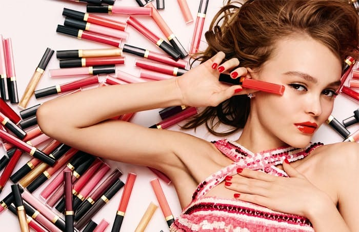 Rouge Coco Gloss and Lily-Rose Depp