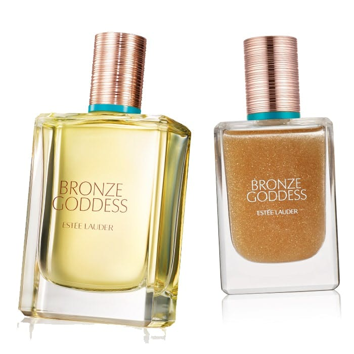 Estee Lauder Bronze Goddess Oil and Frgrance