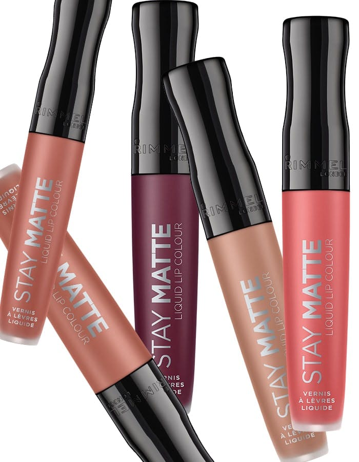More Rimmel Stay Matte shades