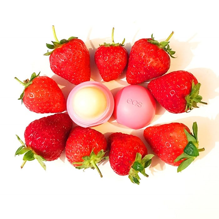 EOS Strawberry Lip Balm