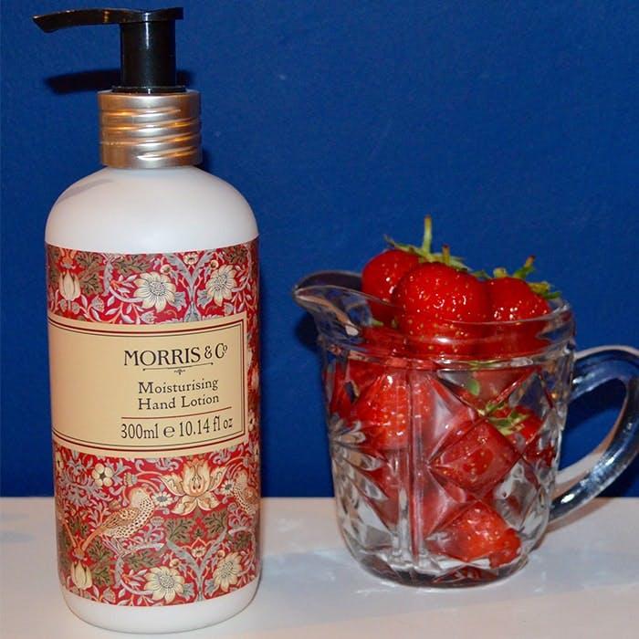 Morris & Co Strawberry Thief Hand Lotion