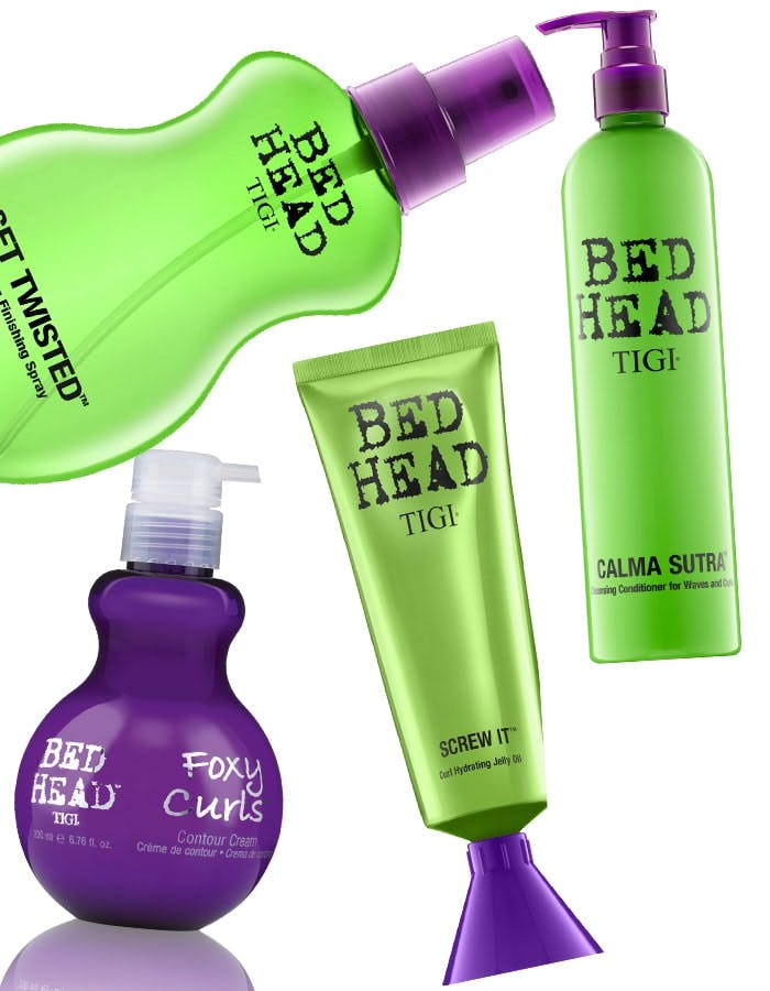 New waves, curls and frizz from Bed Head by TIGI