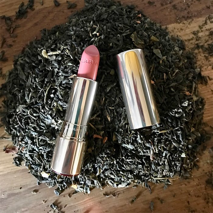 Clarins Rose Tea Joli Rouge Lipstick