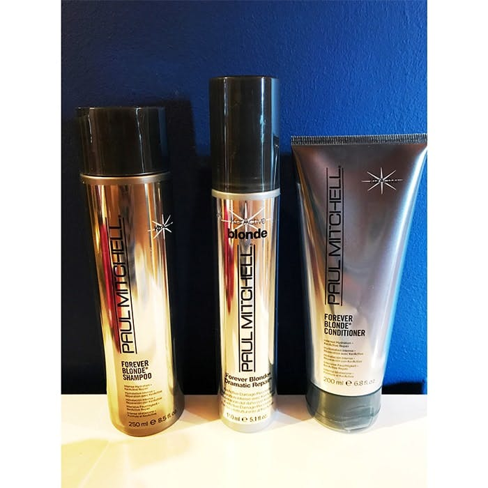 Paul Mitchell Forever Blonde haircare