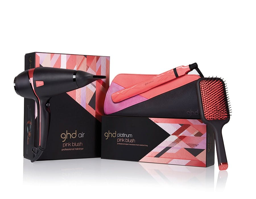 GHD Pink Blush BCA collection