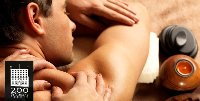 £65 for a 30 Minute Relaxation Couples Massage with Glass of Prosecco for 2