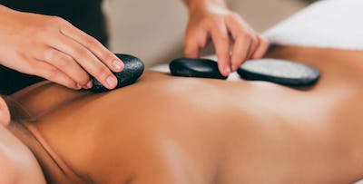 £25 for a Hot Stone Massage with Reflexology
