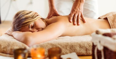 £25 for an Indian Head Massage with Back, Neck & Shoulder Massage