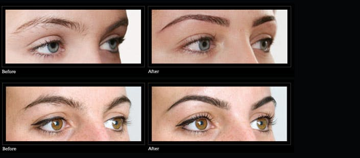 £10 for 7 Step HD Brow Treatment