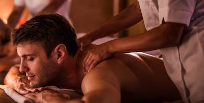 £34 for a Men's 2-Treatment Pamper Package