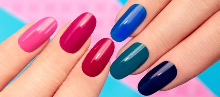 £10 for a Gel Manicure or Pedicure