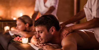 £120 for a Couples Spa Day with 3 Treatments