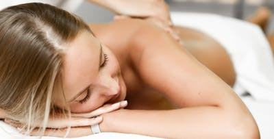 £39 for a Back, Neck & Shoulder Massage with Option of Cabernet Scrub or Additional Massage for 1