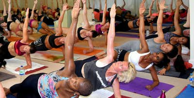 £25 for a 5 Class Card for Inferno Hot Pilates