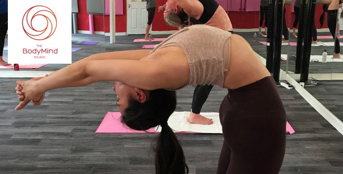 5 or 10 Class Pass for Bikram Yoga, NYC 60 or Inferno Hot Pilates, from £19.95