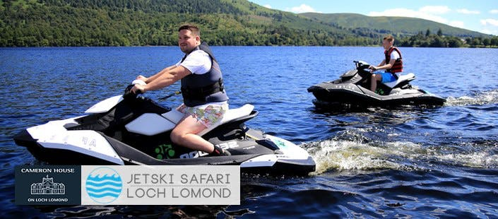 £29.95 for a Jet Ski Safari + Hot Chocolate